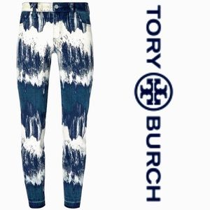 TORY BURCH ANKLE CROP JEANS